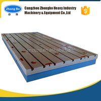Cast Iron T-Slotted Floor / Bed Plates / Base Plates