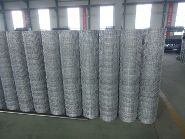 Finished Products Piled (Wire Mesh)