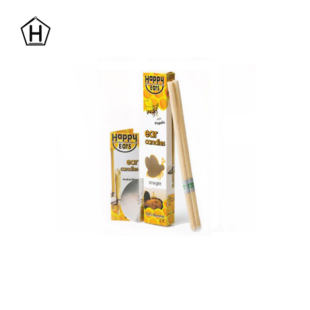 Factory supply high quality beeswax ear candles for spa