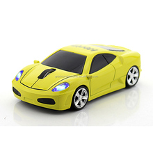 High Speed 2.4G Optical Wireless Mouse/Mice Race Car Shape+Mini USB Receiver