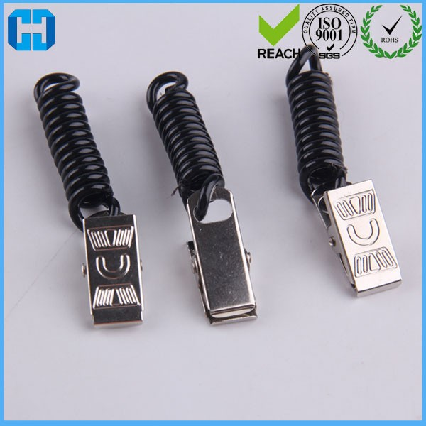 Best Lanyard Coiled Wire Metal Clips Badge Clips
