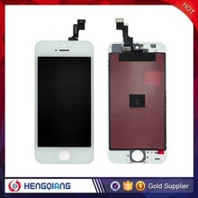 Hottest!!! LCD screen display for iphone 5s flexible lcd digitizer assembly