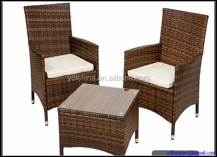 small rattan dining chair and table YKD-12