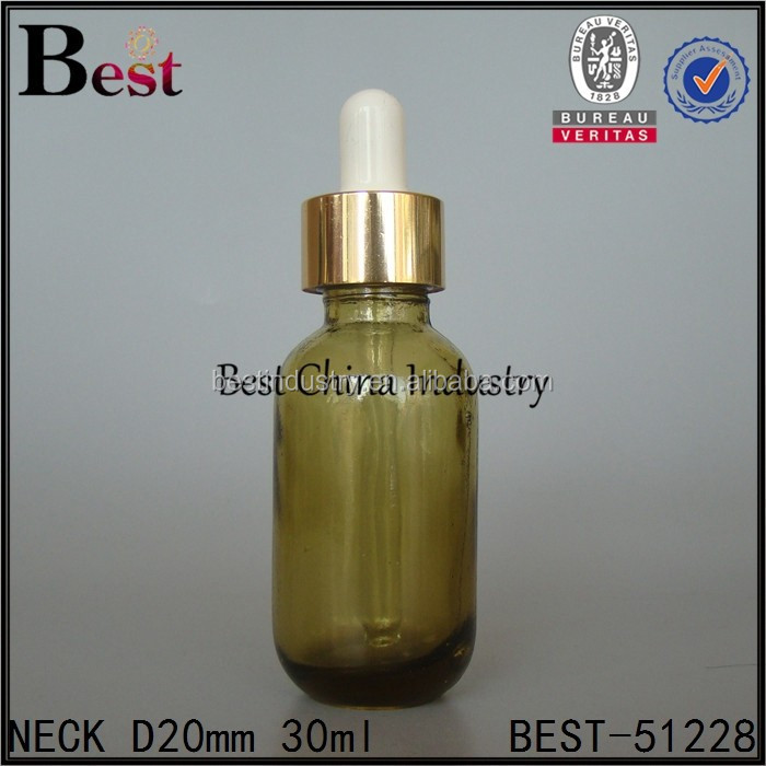 Water Based Essential Oil - Alibaba 2015 new products 30ml glass oil bottle with gold dropper wholesale