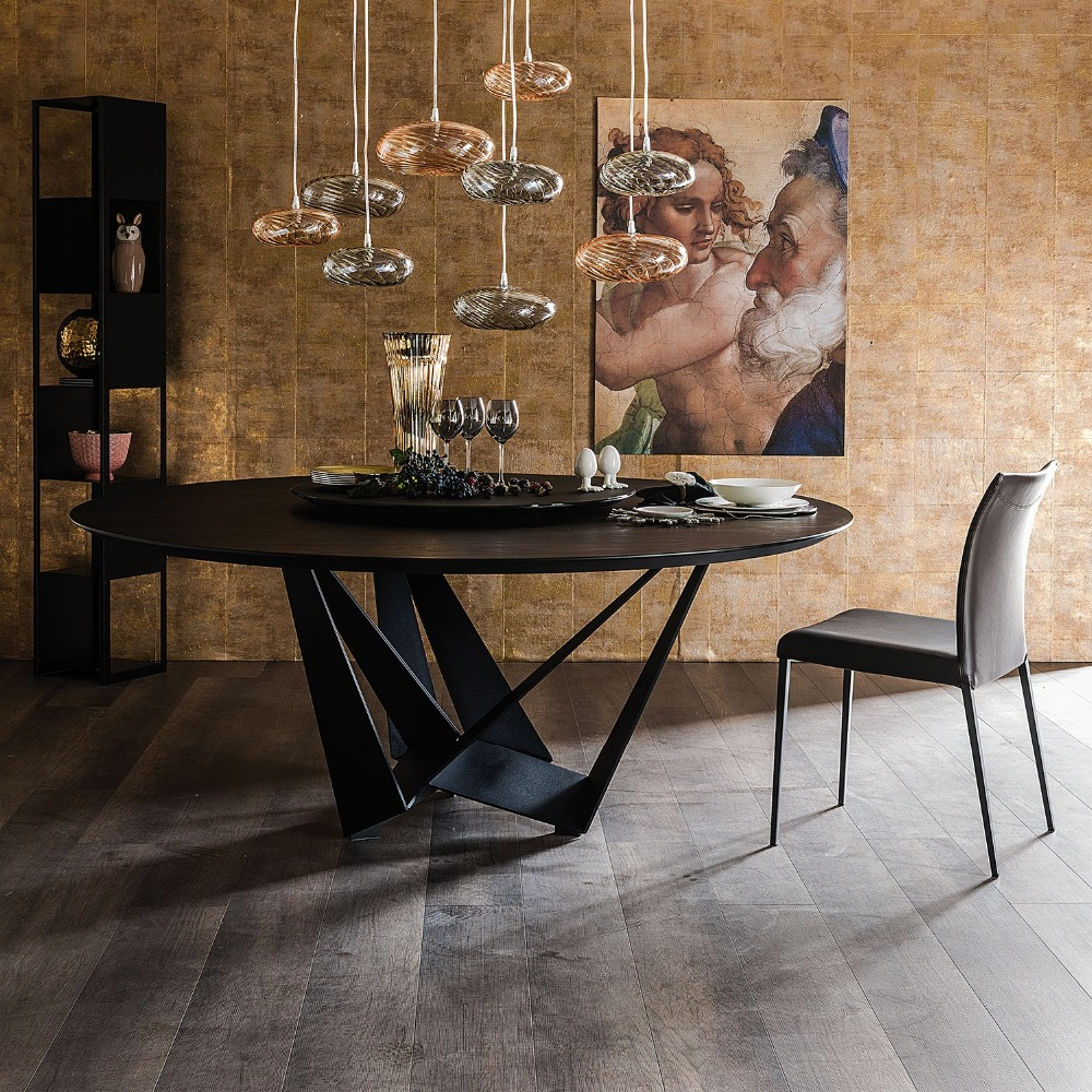 Alibaba Foshan round wooden dining <strong>table</strong> modern furniture ,high quality wooden dining <strong>table</strong> with legs