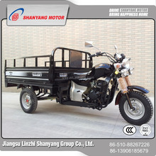 China top roof 175/200/250cc three wheel gas scooter three wheel cargo motorcycle transport tricycle