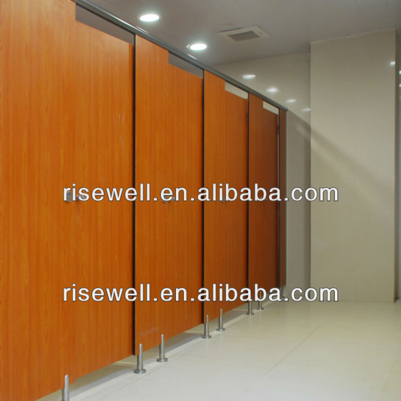 wood grain phenolic toilet partitions