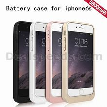 Battery Case External Battery Pack 5800mAh Carrying Wireless Power Charging case for iphone 6 Plus