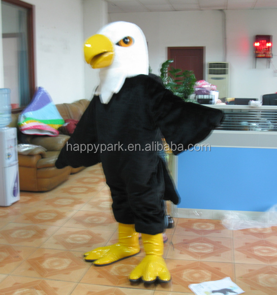 accept Paypal good feedback bird mascot costume, eagle mascot costume, hawk mascot costume