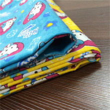 China supplier beautiful Donald Duck all cotton printed pattern soft flannel fabric for baby