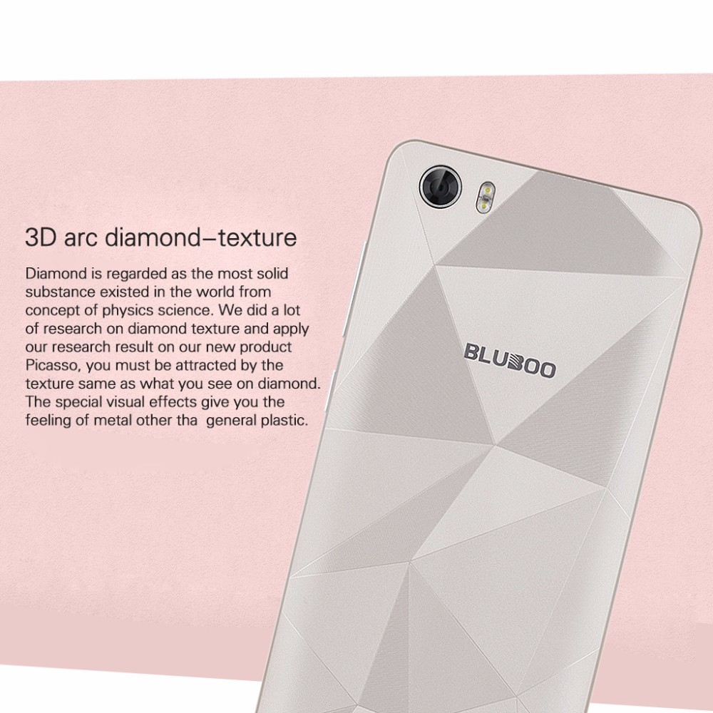 BLUBOO Picasso MTK6580 Quad Core Cell Phone Android 5.1 HD Screen 2G RAM 16G ROM 8.0 MP Camera Smart phone