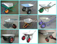 High quality wheel barrow four wheels