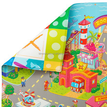 Customized High-Quality Eco-Friendly Baby Play Mat for Baby Crawling Children game, Colorful Patterns,Non Toxic & BPA-Free.