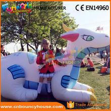 Inflatable cartoon model advertising inflatable sea dragon