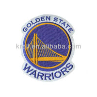 Customized Warrior Team LOGO Embroidery Patch