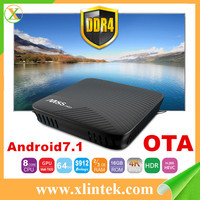 2017 New design Android 7.1 Tv Box M8s Pro With KODI 17.3 dual band wifi 2gb/3gb RAM Amlogic S912 OTT TV BOX M8S pro