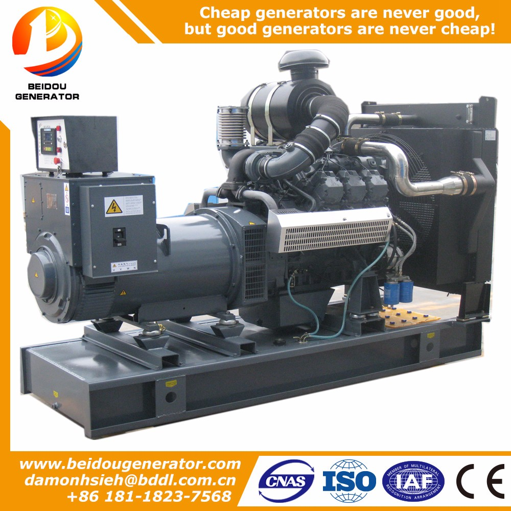 Good quality silent 75kw electric low rpm diesel generator