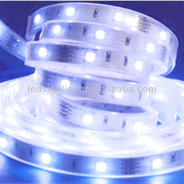 led strip light SMD5050 blue IP 65 led module waterproof lighted sign for featherlite trailers