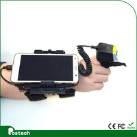 FS01 Laser wearable ring barcode scanner & smart phone terminal WT01 to free hand