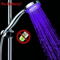 Single Color Non Battery LED Shower head birthday gift for boyfriend