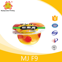 Clear Heat Shrink Plastic Fruit Jelly Film