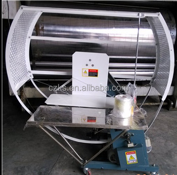 corrugated paperboard strapping machine binding cardboard and carton machine