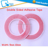 Super Clear Strong Red Double Sided Adhesive Tape 5mm 10mm for LCD Touch Screen