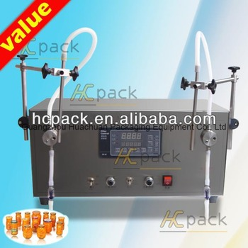 Herbicide liquid filling machine