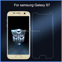 2016 wholesale cell phone tempered glass screen protector with design for samsung galaxy s7
