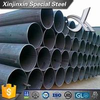 S235JRG1 manufacture of mild round steel tube
