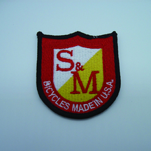 OEM Service Embroidery Emblems for Jacket