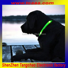 Fashion hot sell led dog collar,led pet collar,best led dog collar and leash