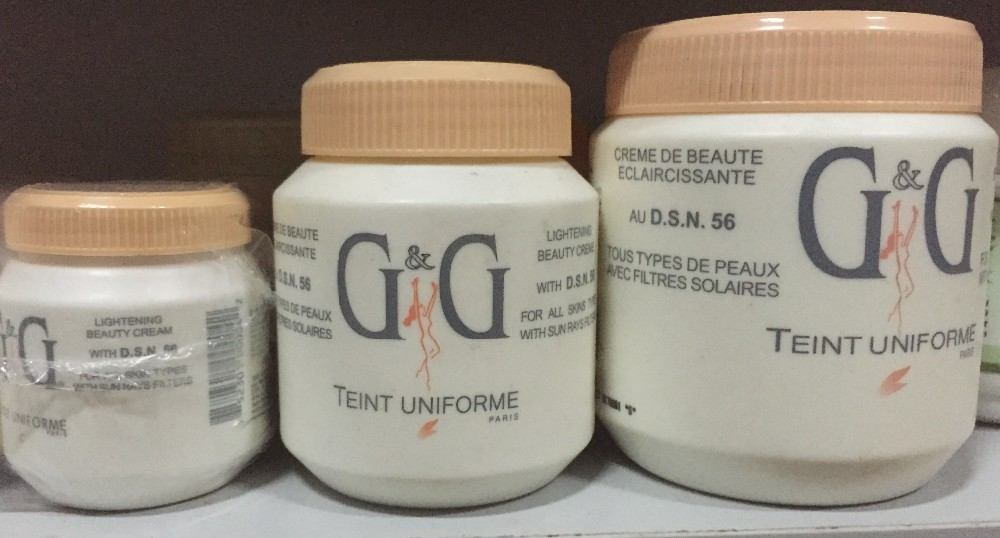 G&G body cream