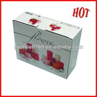 High quality lipstick color corrugated box for package