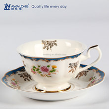 Eco Healthy Paint Tea Cup Saucer Packaging with Logo Custom