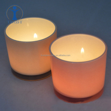 Wholesale High Quality Tea Light Personalized Cheap Sprayed Colored Candle Glass Jar