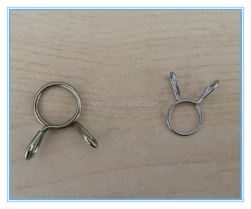 Spring Hose Clamp Over Medical Silicon OD 7/16, or / and 1/2""