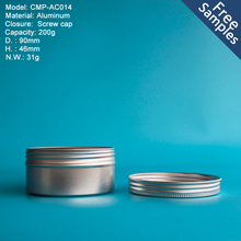 Latest design small round aluminum tin boxes wholesale