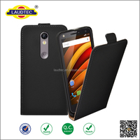 Manufacturer wholesale PU leather cell phone case for Moto X Force,ultra slim flip cover for Moto X Force