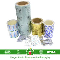 aluminium foil for pharmacy packaging plastic laminated roll