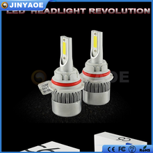 Wholesale car accessories COB chips light automotive H4 led auto