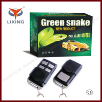 Lixing remote control jammer car security alarm system with central door locking