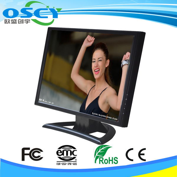 12 volt 17 inches tft lcd color monitor with 12v dc input