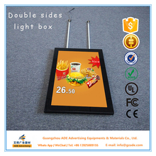 Double sides LED magnetic led illuminated advertising display A0,A1,A2,A3
