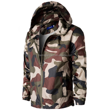 Winter fashion trim a man camouflage jacket