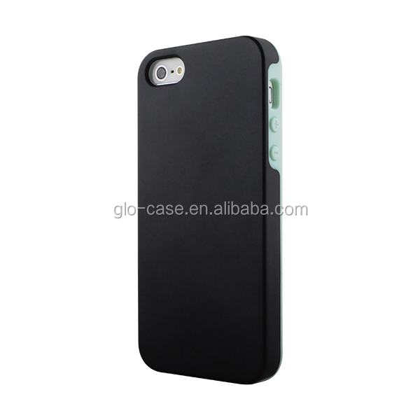 Double injected PC + TPU case for Apple iPhone 5 5S