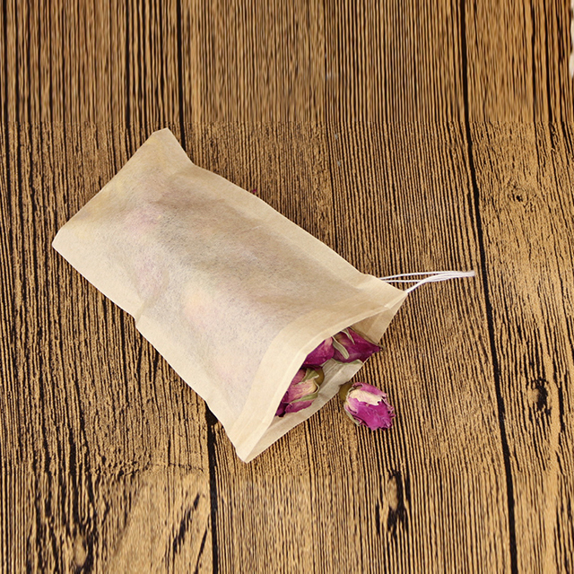 Top quality custom made unbleached paper tea bag filter