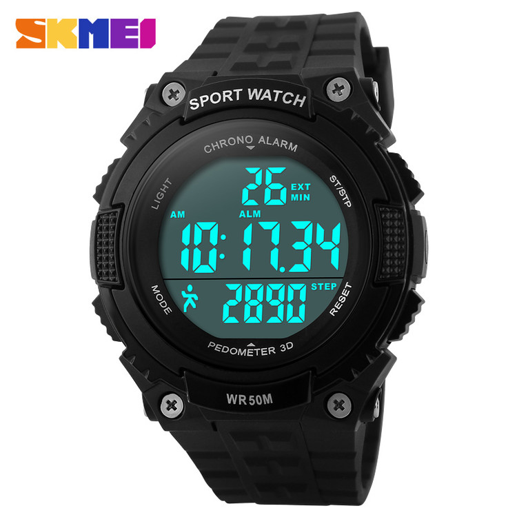 China factory promotional pedometer smart watch with step counter function
