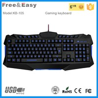 New design high quality wired gaming keyboard