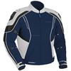 Mens Royal Blue Jacket w/ Quilted Lining & Chest YKK Zipper Pocket -